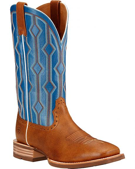 Ariat Live Wire Cowboy Boots - Square Toe