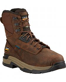 "Ariat Mastergrip 8"" H2O Work Boots - Composite Toe"