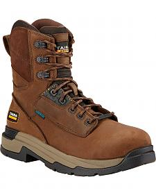 """Ariat Mastergrip 8"""" H2O Work Boots - Composite Toe"""
