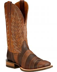Ariat Qualifier Cowboy Boots - Square Toe
