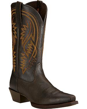 Ariat Revolution Cowboy Boots - Snip Toe