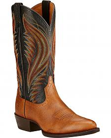 Ariat Boomtown Cowboy Boots - Medium Toe