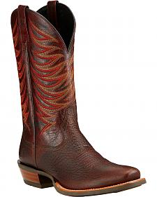 Ariat Crosswire Cowboy Boots - Square Toe