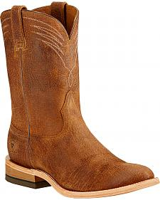 Ariat Dress Roper Cowboy Boots - Round Toe