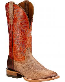 Ariat High Call Cowboy Boots - Square Toe