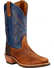 Ariat Heritage Saddleback Cowboy Boots - Square Toe