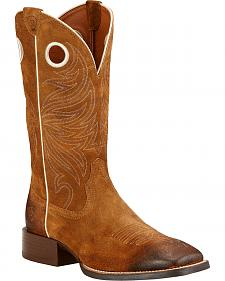 Ariat Sport Rider Cowboy Boots - Square Toe
