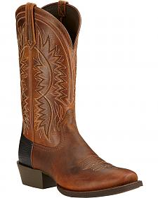 Ariat Troubadour Cowboy Boots - Square Toe