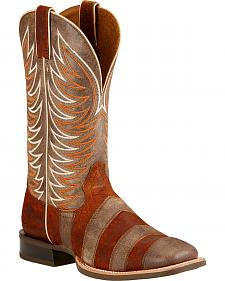 Ariat Whirlwind Cowboy Boots - Square Toe