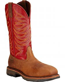 Ariat Workhog Wide Square Toe Tall Boots - Composite Toe