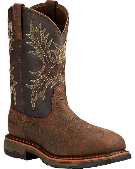 Ariat Workhog H2O Western Boots - Composite Toe