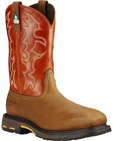 Ariat Men's WorkHog CSA Work Boots - Composite Toe