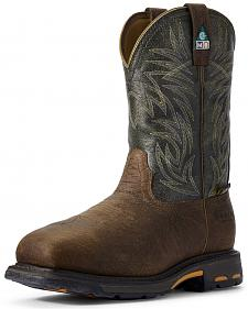 Ariat Men's WorkHog CSA Work Boots - Composite Toe