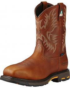 Ariat Men's WorkHog H2O CSA Work Boots - Composite Toe