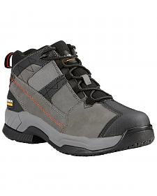Ariat Men's Grey Contender Work Boots - Soft Toe