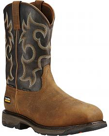 Ariat Workhog H2O 400g Cowboy Work Boots - Composite Toe