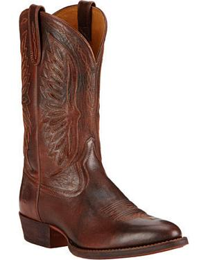 Ariat Decadent Chocolate Throwdown Cowboy Boots - Round Toe