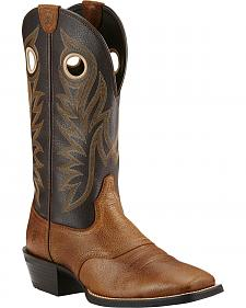 Ariat Desert Palm Sport Outrider Cowboy Boots - Square Toe