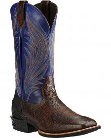Ariat Glazed Twilight Catalyst Prime Cowboy Boots - Square Toe