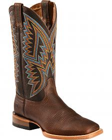 Ariat Hesston Cowboy Boots - Square Toe