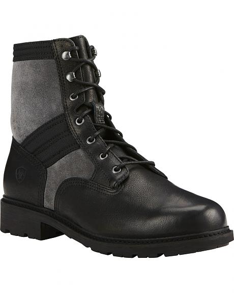 Ariat Men's Graphite Easy Street Lace-Up Boots - Round Toe