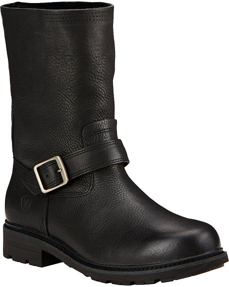 Ariat Men's Black Stonewall Ranch Boots - Round Toe