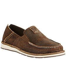 Ariat Men's Brown Cruiser Shoes - Moc Toe
