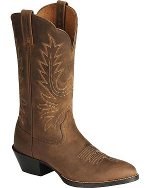 Ariat Heritage Cowgirl Boots - Medium Toe