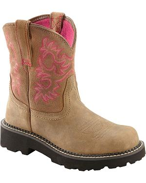 Ariat Fatbaby Bomber Cowgirl Boots - Round Toe