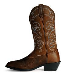 Ariat Oiled Leather Heritage Western Boots at Sheplers