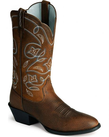 Ariat Oiled Leather Heritage Western Boots