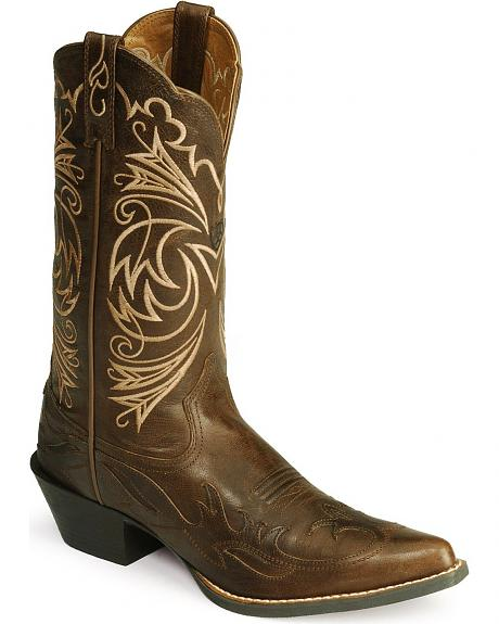 Ariat Heritage Wingtip Cowgirl Boots - Pointed Toe