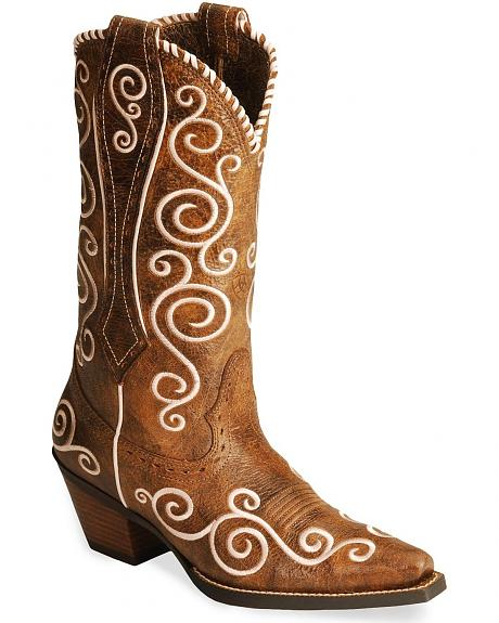 Ariat Brown Shelleen Cowgirl Boots