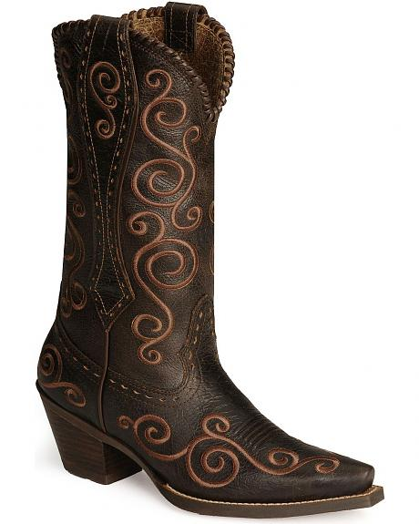 Ariat Shelleen Cowgirl Boots - Snip Toe