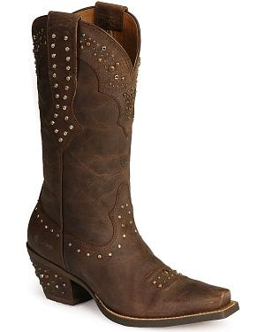 Ariat Rhinestone Cowgirl Boots - Snip Toe