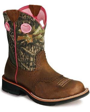 Ariat Camo Fatbaby Cowgirl Boots