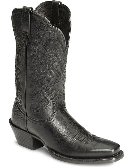 Ariat Women's Black Deertan Legend Boots - Square Toe