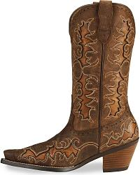 Ariat Sassy Brown Dandy Cowgirl Boots - Snip Toe at Sheplers