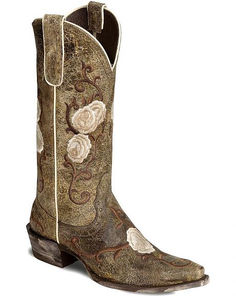 Ariat Presidio Shattered Marble Corazon Cowgirl Boot - Snip Toe