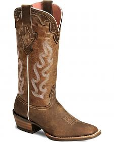 Ariat Crossfire Caliente Cowgirl Boots - Wide Square Toe