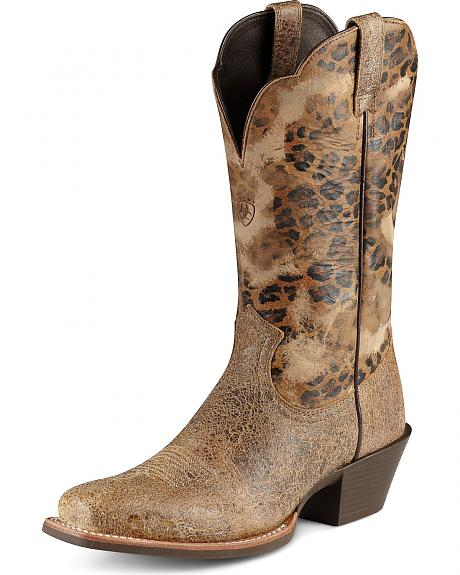 Ariat Legend Shatter Cowgirl Boots - Square Toe