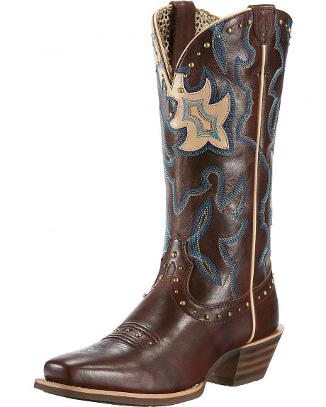 Ariat Runaway Cowgirl Boots - Square Toe