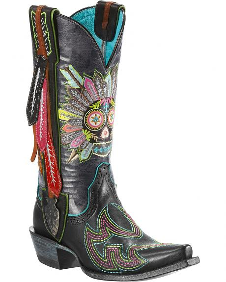 Ariat Gypsy Soule Indian Sugar Cowgirl Boots - Snip Toe