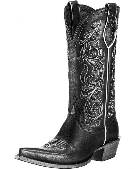 Ariat Palacio Subtle Cowgirl Boots - Pinch Toe
