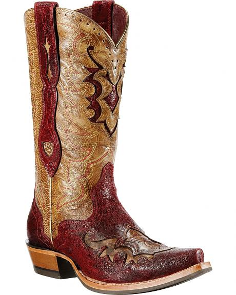 Ariat Rienda Roughout Cowgirl Boots - Snip Toe