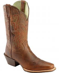 Ariat Sassy Brown Legend Cowgirl Boots - Snip Toe