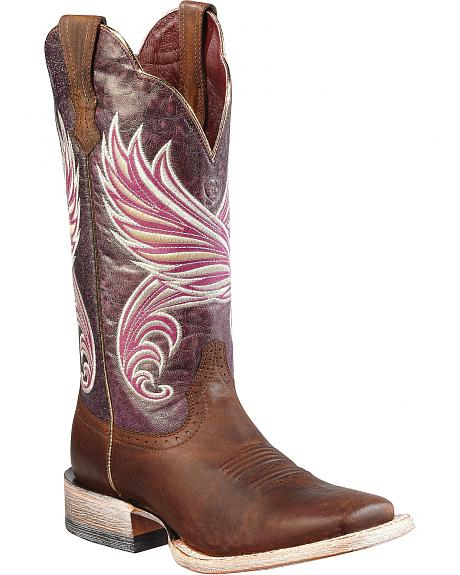 Ariat Fortress Cowgirl Boots - Square Toe