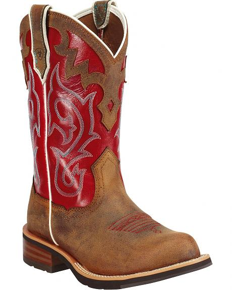 Red Ariat Boots - Boot Hto