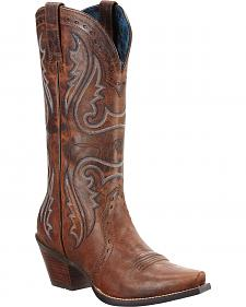 Ariat Heritage Western Cowgirl Boots - Snip Toe