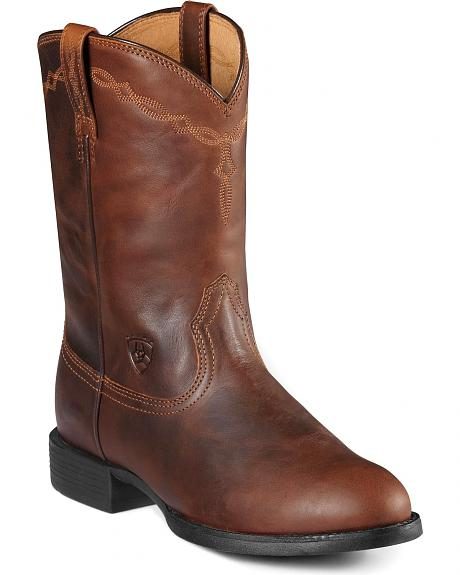 Ariat Heritage Roper Cowgirl Boots - Round Toe